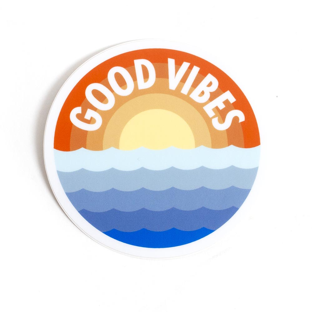 NW, Good Vibes, Sticker